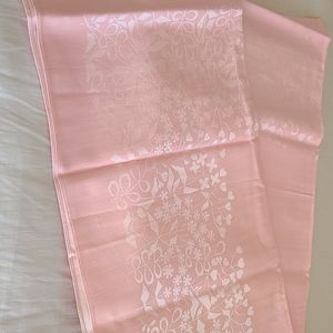 Gorgeous Damask  Pink Table Cloth